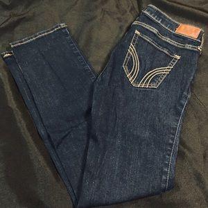 Deep Blue Hollister Jeans